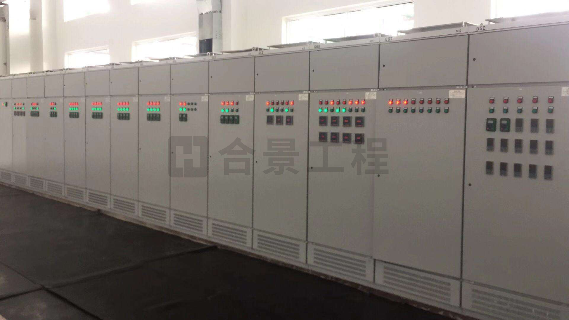 億都半導體二期高低壓配電工程