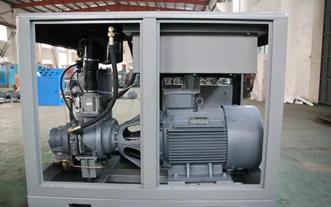 螺桿空壓機漏機油原因分析及解決方案